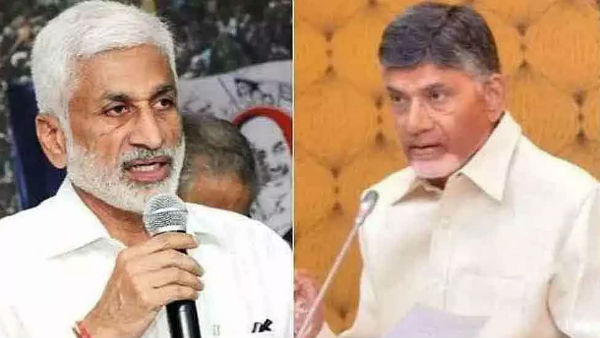 ycp mp vijaya sai reddy slams chandrababu..