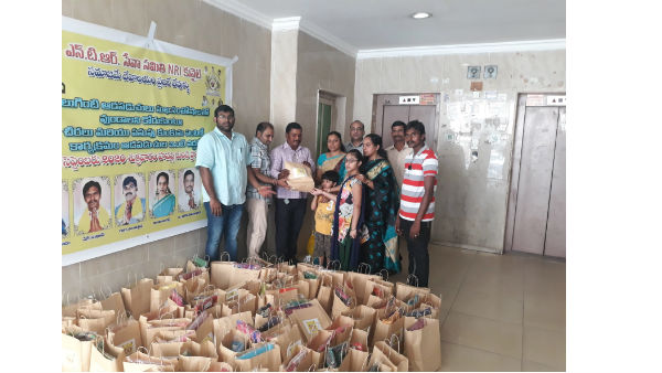 TDP Kuwait unit honours women under pasupu kunkuma scheme
