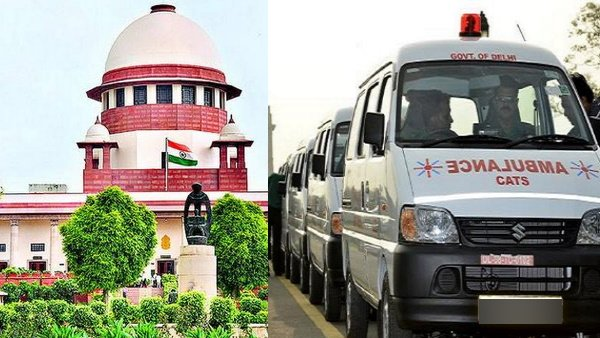 sc directs states to fix reasonable cost to ambulance services availed by covid 19 patients