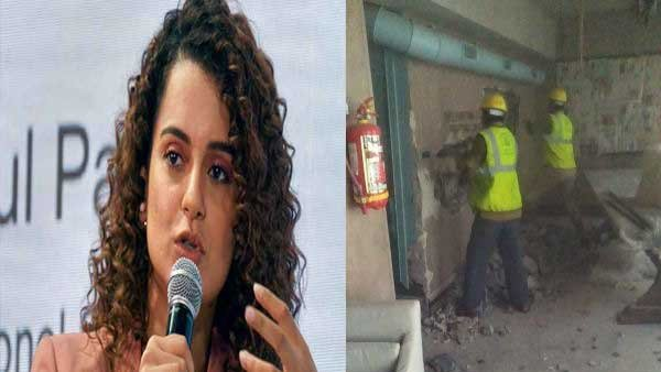 Kangana Ranaut's moved the Bombay High Court against BMC for demolition