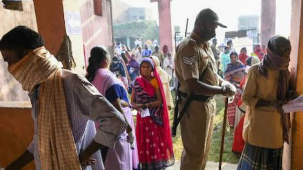 bihar elections: first phase polling ends peacefully:Voters Brave Pandemic, turnout details