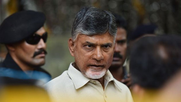 Once again, the officials issued notice to Chandrababus residence to vacate