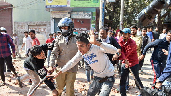 delhi Riots Victim Says He Lost His Arm in a Blast but police files accident fir
