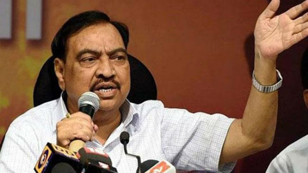 Maharashtra BJP leader Eknath Khadse Quits BJP, all set to join in NCP