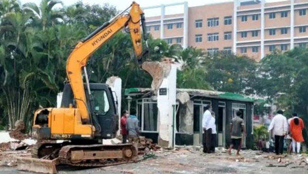 highcourt stay orders till nov 30th over geetham university demolitions