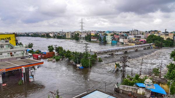 హైదరాబాద్లో జోరువాన.. మరో మూడురోజులు వాన గండం.. బెంబేలెత్తిపోతున్న జనం..