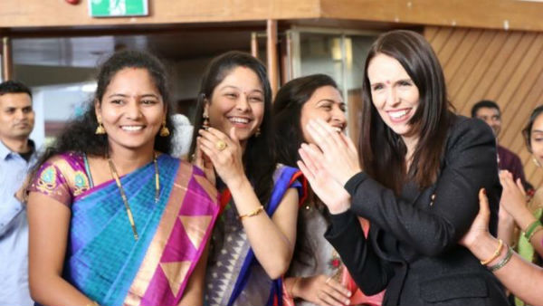 With landslide victory Newzealand PM Jacinda to participate in Batukamma festival,says sources