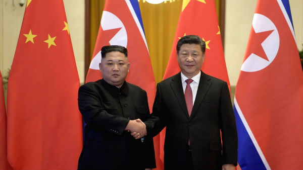North Korean President Kim Jong Un extends support to China to corner US