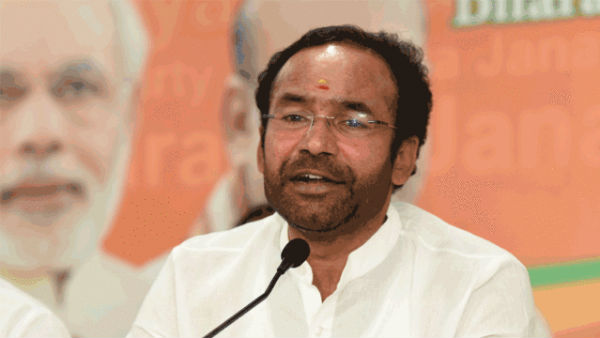 hyderabad floods union minister kishan reddy donates his three months salary