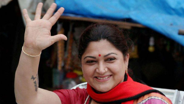 Tamil Actress and Congress leader Kushboo to be join in BJP today