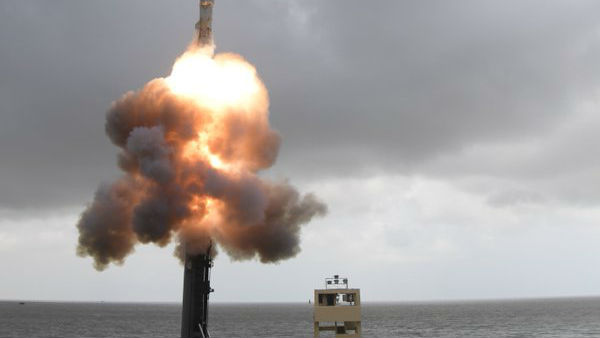 India Successfully Flight-Tests Advanced Missile-Torpedo System..