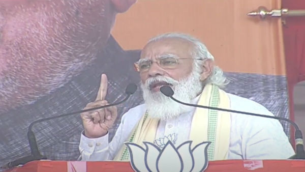 opposition demand to bring back article 370 in j&k an insult to bihari martyrs, says modi