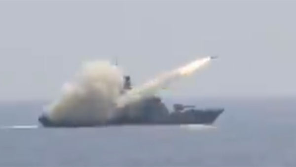 Navys anti-ship missile launched by INS Prabal sinks target with clinical precision