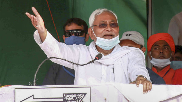 nitish kumar puts his faith in women voters for retaining power in bihar