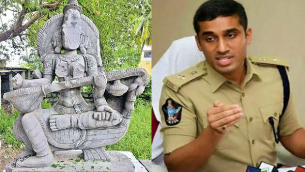 statues were not destroyed sp vishal gunni