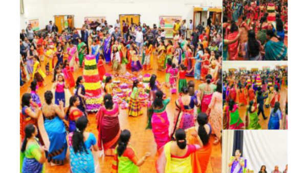 Batukamma What Are The Nine Forms Of Batukamma Festival Know Here