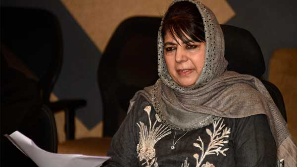 Mehbooba Mufti to be released after spending more than a year in detention