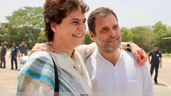 Fact Check Did Rahul Priyanka Joke On Their Way To Hathras