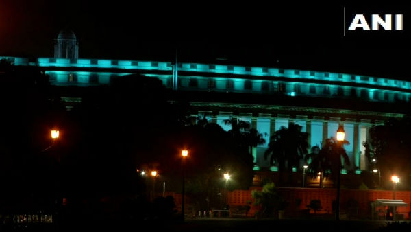 indias monuments illuminated with blue lights on World Childrens Day, venkaiah key speech