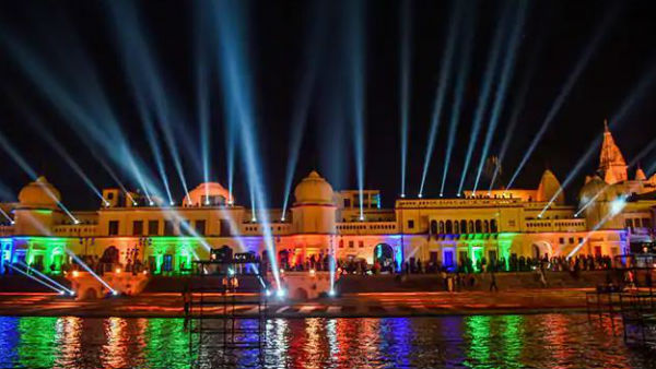 Ayodhya Deepotsav makes it to Guinness Book, 5,84,572 diyas lit, Ahead Of Diwali