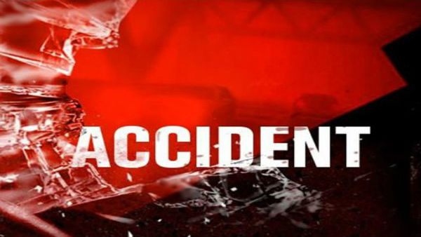 rtc bus and dcm rammed 14 injured in a road mishap in khammam district