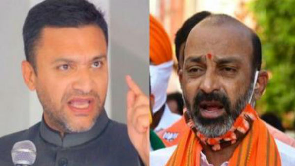 ghmc elections suo moto cases filed against bandi sanjay and akbaruddin