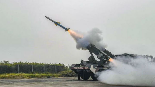 India successfully test-fires DRDO made QRSAM system; missile hits pilotless aircraft