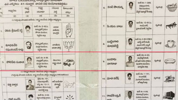 roti maker symbol eats into votes of TRS in dubbaka by poll