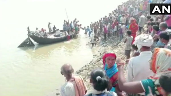Bihar: Several people missing after a boat capsized in Naugachhia area of Bhagalpur