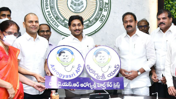 ap government increases ysr arogya sri treatments number to 2434 across the state