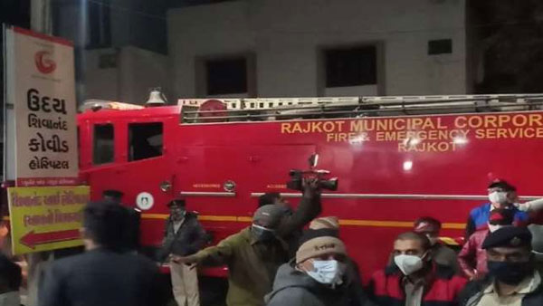 Gujarat: Fire breaks out at ICU of Shivanand COVID19 care hospital Rajkot
