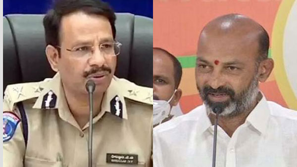 Action to be taken on BJP Telangana President Bandi Sanjay for remarks against DGP: CP Sajjanar