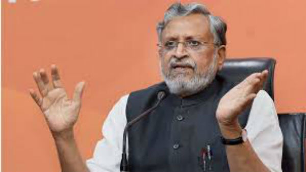 Sushil Modi Named as BJP Candidate for Rajya Sabha By-election in Bihar