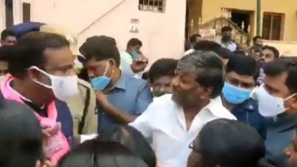 GHMC elections 2020: TRS MLA Padma Rao faces the ire of local residents