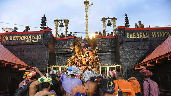 Devotees lower this time for Sabarimala Mandala pooja ... Corona rules in the temple