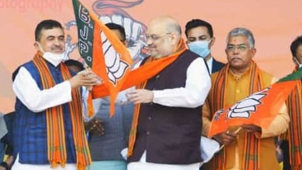 amit shah launches bjp campaign in bengal, says mamata worried for nephew as cm