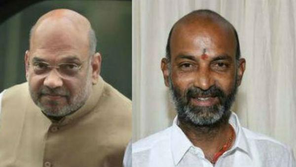 జీహెచ్ఎంసీ ఎన్నికల ఫలితాలపై అమిత్ షా స్పందన: బండి సంజయ్కి అభినందనలు