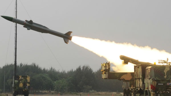 India successfully test fires medium range surface-to-air missile at Odisha's Balasore