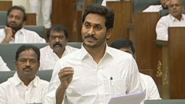 jagan and speaker objections over tdp mlas behaviour in ap assembly
