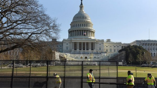 US Capitol Briefly Shut Down Over Fire 2 Days Before Joe Biden Inauguration