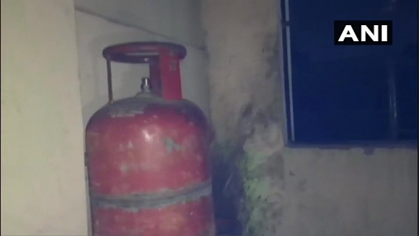 Hyderabad: 13 persons were injured in a fire that broke out due to a cylinder explosion