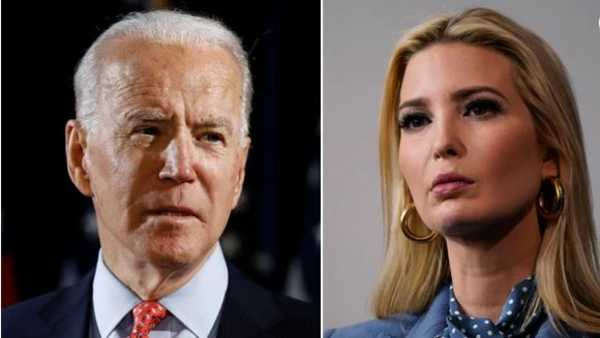 Ivanka Trumps Farewell Message Has A Good Word For Joe Biden: cries while watching her father make his final speech
