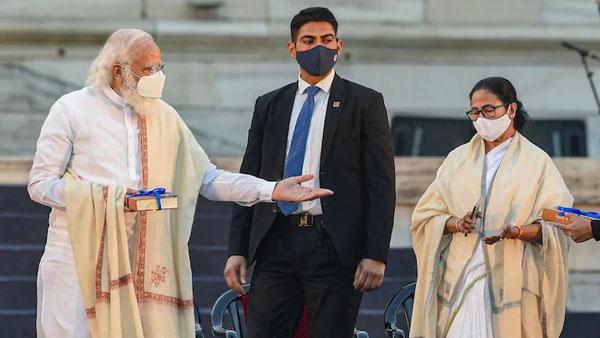 ఇరుకునపడ్డ బీజేపీ.. వాళ్లెవరో తేల్చాల్సిందే.. నేతాజీ జయంతి వేడుకలో ఆ నినాదాలపై ఆర్ఎస్ఎస్ రియాక్షన్
