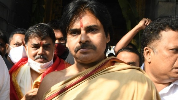Jana Sena Chief Pawan Kalyan visits Tirumala day after Political Affairs Committee meeting