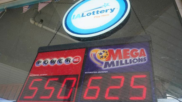 The Mega Millions jackpot has soared to $750 million, its 2nd highest ever,draws are held