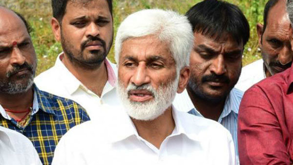 Attacks on temples in AP: YSRCP MP Vijayasai Reddy slams TDP leader Chandrababu for made comments