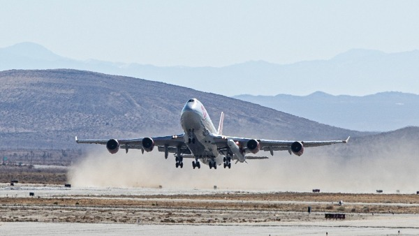 Rocket startup Virgin Orbit launches rocket off a 747 aircraft, puts 9 satellites in space