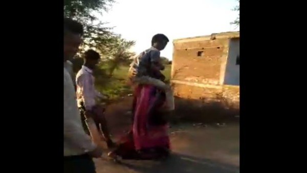 Shocking: Madhya Pradesh Woman Shamed, Forced To Walk With In-Laws On Shoulders