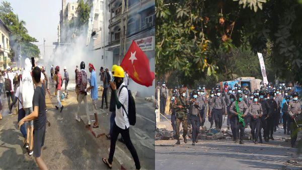 Bloodiest Day: మయన్మార్లో నిరసనకారులపై కాల్పులు: 18 మంది మృతి, 30 మందికి గాయాలు