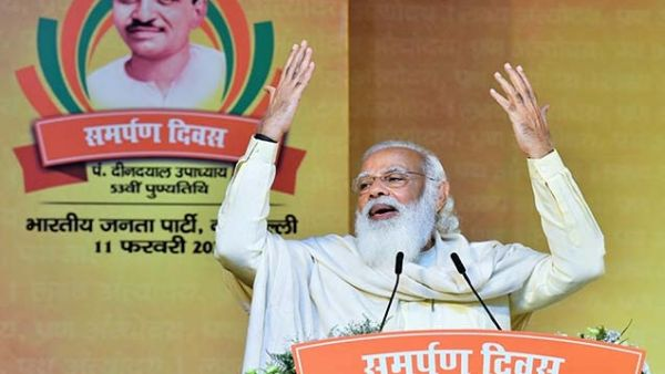 Govt may run with majority but nation runs with consensus: PM Modi to BJP MPs